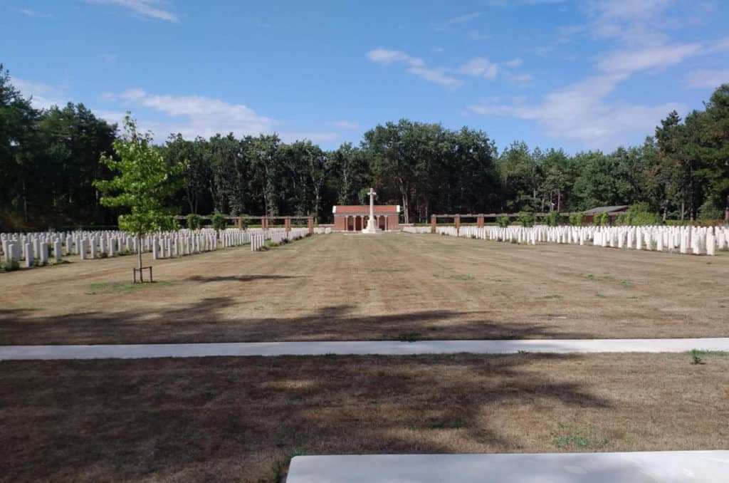 Canadian War Cemetery In The Netherlands