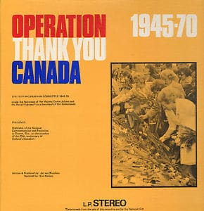 Operation Thank You Canada 1945-1970