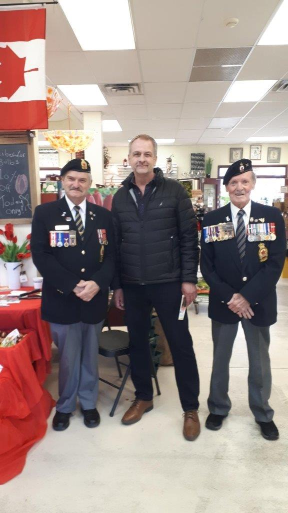 fundraising project Royal Canadian Legion