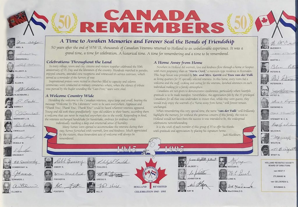 Canada Remembers - 50 years