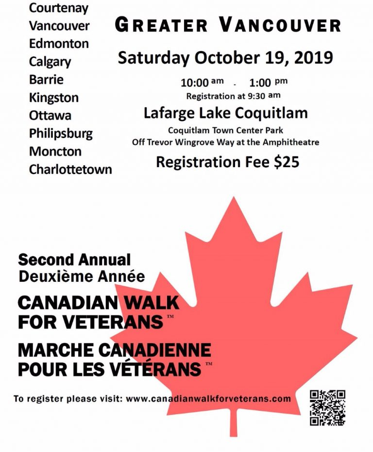 Canadian Walk For Veterans